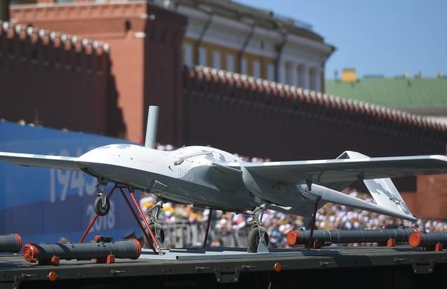 thiết bị bay không người lái tấn công Korsar (Ảnh: Sputnik)
