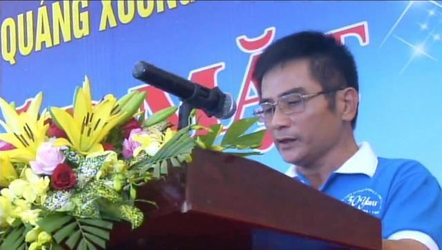 Nguyễn Văn Thoại - Đại diện nhóm cựu học sinh đang sinh sống tại phía Nam.
