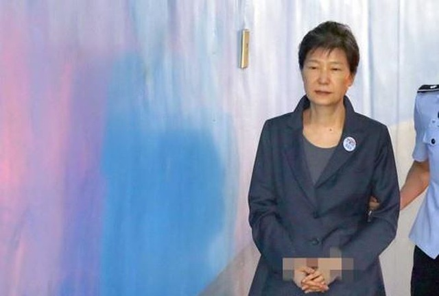 Cựu Tổng thống Park Geun-hye. Ảnh: Yonhap