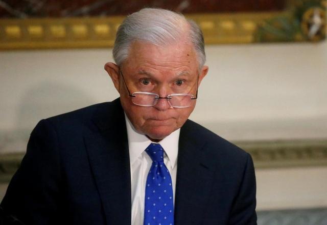 Bộ trưởng Tư pháp Mỹ Jeff Sessions (Ảnh: Reuters)