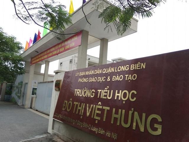 Lãnh đạo Trường Tiểu học Đô thị Việt Hưng (Long Biên, Hà Nội) cho biết, các khoản thu phần lớn đều chưa đúng quy định.