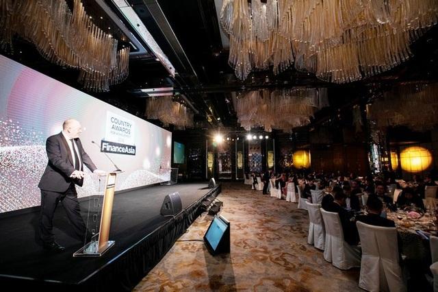 Lễ trao giải Ngân hàng tốt nhất năm 2018 do Tạp chí Finance Asia đã tổ chức