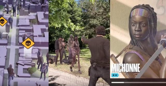 Trò chơi bắn súng biến người thật thành những con zombie thông qua công nghệ AR và người chơi phải dùng súng để bắn chúng.