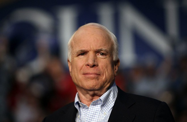 Thượng nghị sĩ John McCain. (Ảnh: Reuters)