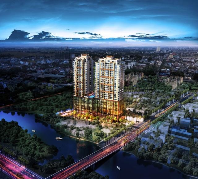 Phối cảnh dự án Southgate Tower