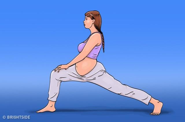 8 động tác giúp bạn chuyển dạ dễ dàng hơn - 5