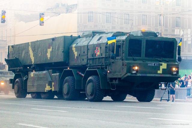 Hệ thống tên lửa chiến thuật Sapsan / Grim-2 (Ảnh: Defense Blog)