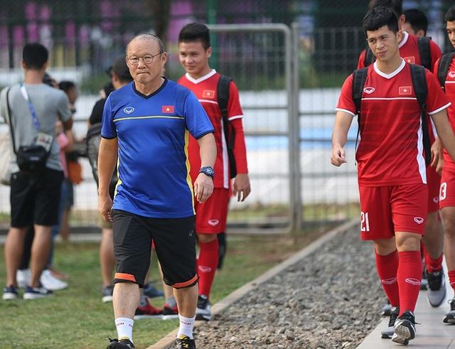 HLV Park Hang Seo lo ngại Đình Trọng khó đạt phong độ tốt nhất