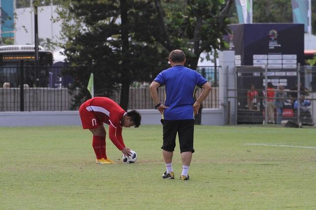 Văn Thanh là cầu thủ được HLV Park Hang Seo đánh giá cao về khả năng đá phạt đền