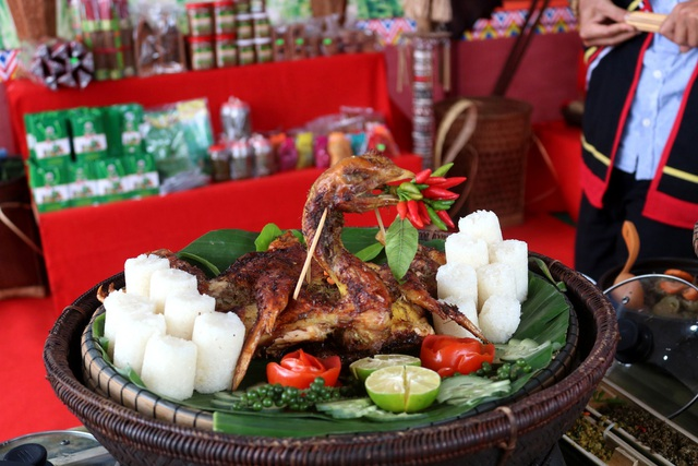 Món ăn của đồng bào Cor ở Quảng Ngãi