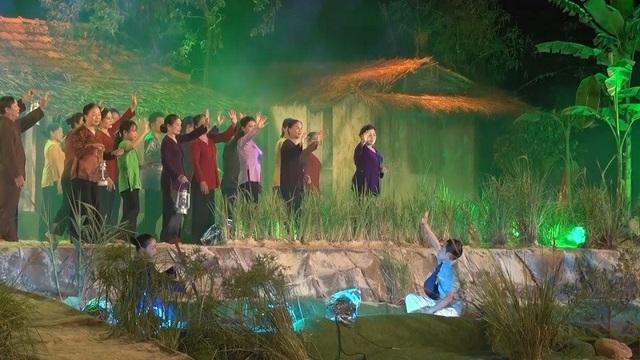 Chặng đường cách mạng của Đại tướng Võ Nguyên Giáp phần nào đó đã được khắc họa thông qua các tiết mục nghệ thuật đặc sắc trong chương trình.