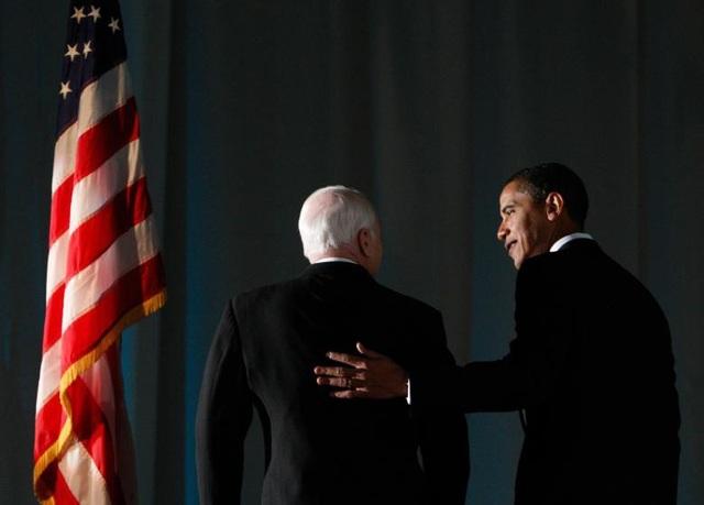 Tuy nhiên, ông McCain một lần nữa lỗi hẹn với ghế tổng thống Mỹ khi ông Obama đã giành chiến thắng chung cuộc và trở thành Tổng thống thứ 44 của Mỹ.
