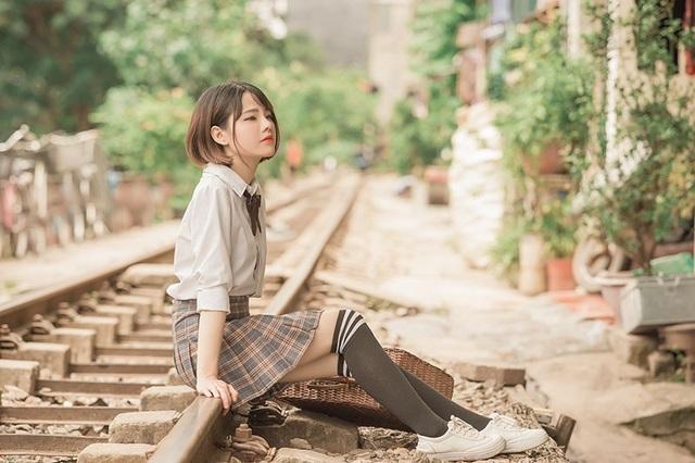 """Cùng ngắm nhìn thêm một số hình ảnh của """"Búp bê"""" Đại học Ngoại thương Tăng Thị Ngọc Tuyết."""