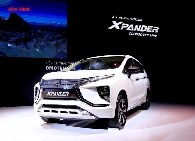 Mitsubishi Xpander có giá khởi điểm chỉ khoảng 550 triệu đồng