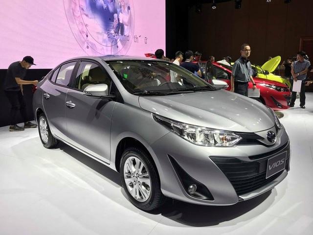 Toyota Vios là mẫu xe được nhiều người lựa chọn tầm giá khoảng 600 triệu đồng