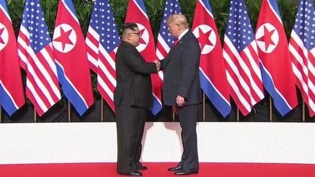 Tổng thống Mỹ Donald Trump cho rằng, quá trình giải trừ hạt nhân trên bán đảo Triều Tiên không có tiến triển kể từ sau hội nghị thượng đỉnh Mỹ-Triều hôm 12/6. (Ảnh: Reuters)