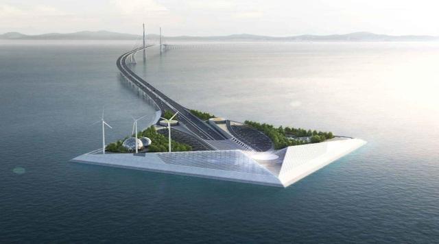 Khi hoàn tất, công trình sẽ kết nối giữa hai thành phố lớn ở tỉnh Quảng Đông và những vị trí lân cận