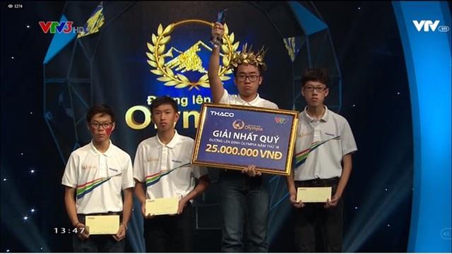 Chu Quang Trường có quyết tâm cao và giỏi giành điểm Về đích từ tay đối thủ