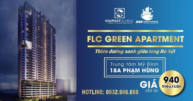 """5 lý do khiến dân đầu tư đổ xô vào dự án """"nóng"""" FLC Green Apartment - 1"""