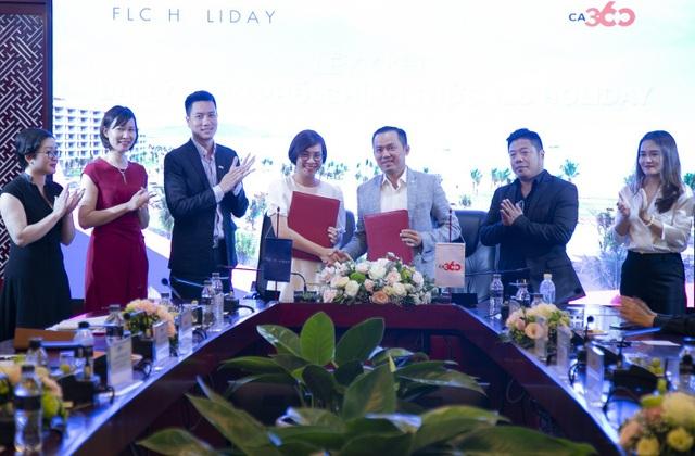 Lễ ký thỏa thuận hợp tác giữa FLC Holiday và CA360 - CMG.ASIA