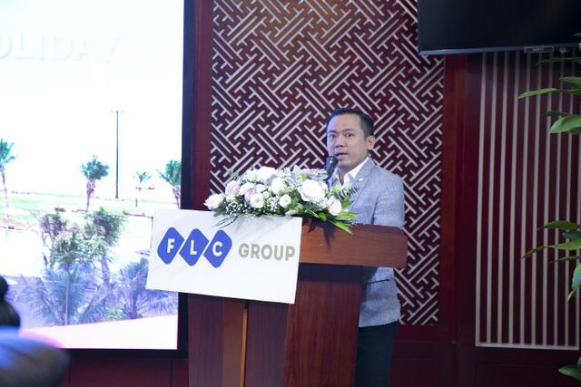 Ông Phan Ngọc Huy – Phó Chủ tịch Tập đoàn CMG.ASIA kiêm Chủ tịch Công ty TNHH CA360 phát biểu tại buổi lễ