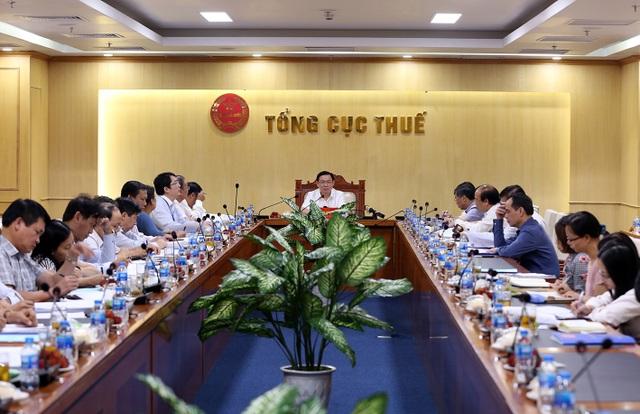Phó Thủ tướng yêu cầu sửa đổi Luật quản lý thuế phải tạo công bằng cho tất cả các đối tượng nộp thuế.