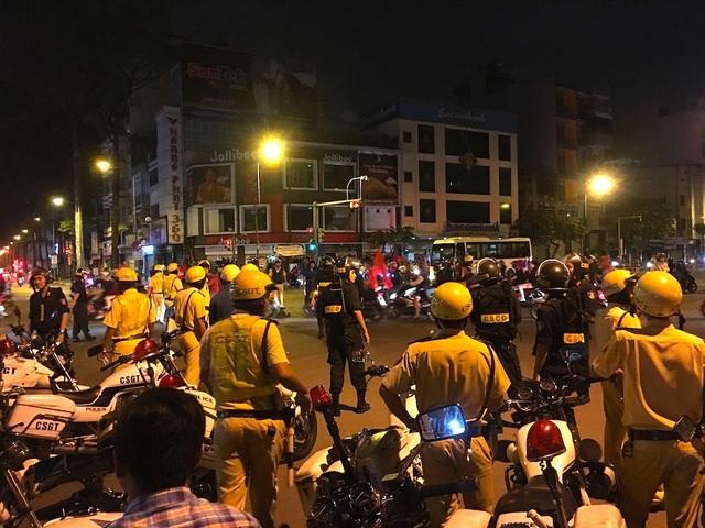 CSGT sẽ huy động 100% quân số để đảm bảo trật tự an toàn giao thông tối nay