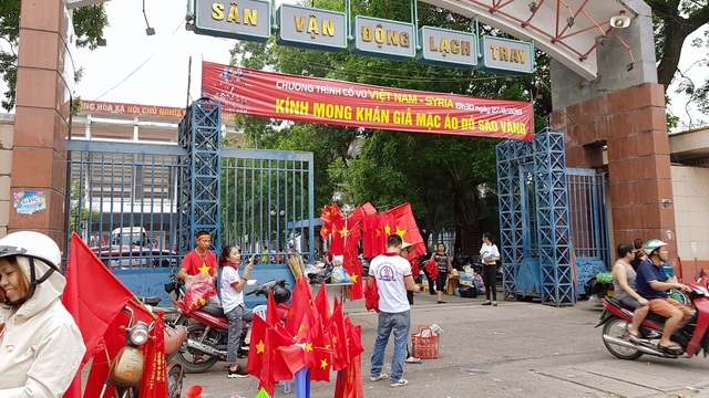 Hải Phòng sẵn sàng cho trận đấu giữa Olympic Việt Nam và Syria - 6