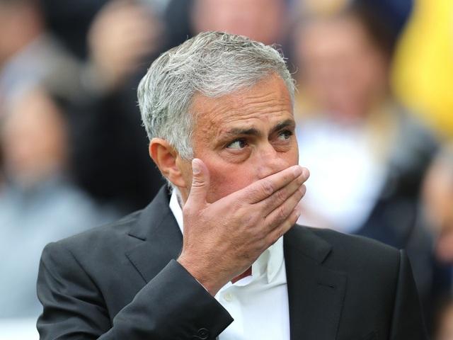 HLV Mourinho phát bực vì bị hỏi quá nhiều