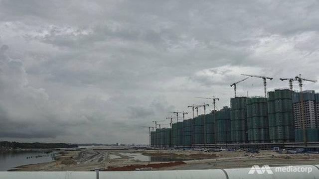 Dự án Forest City trị giá 100 tỉ USD ở bang Johor. Ảnh: Media Corp
