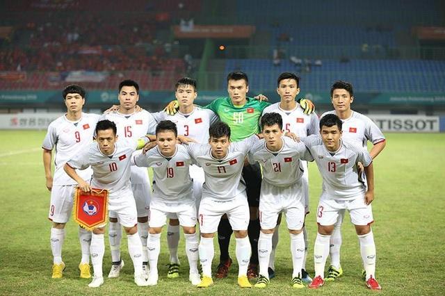 Đội hình ra sân ở trận tứ kết của Olympic Việt Nam