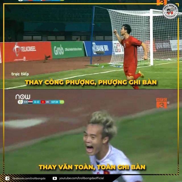 Khả năng thay đổi cầu thủ của Huấn luyện viên Park Hang Seo khiến nhiều người phải thán phục (Ảnh: Troll bóng đá)