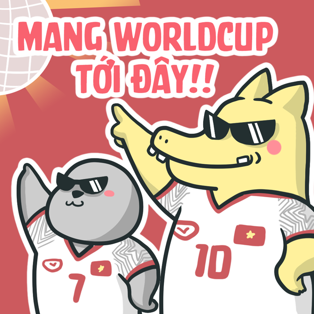 Người hâm mộ bóng đá Việt Nam tràn đầy tự tin đội tuyển có cơ hội tham dự World Cup trong tương lai không xa (Ảnh: Thăng Fly Comics)