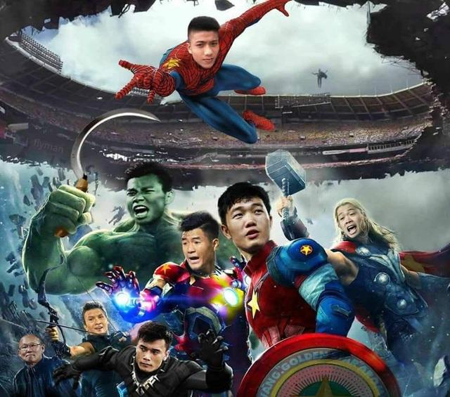Cả đội tuyển Olympic Việt Nam được ví như những siêu anh hùng sau trận thắng lịch sử