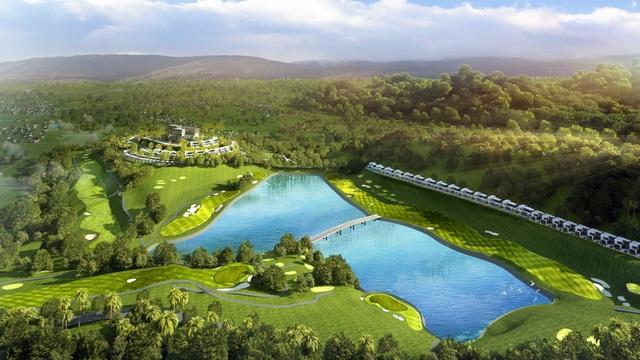 Độc đáo quần thể nghỉ dưỡng trong lòng sân golf đầu tiên ở miền Bắc - 1