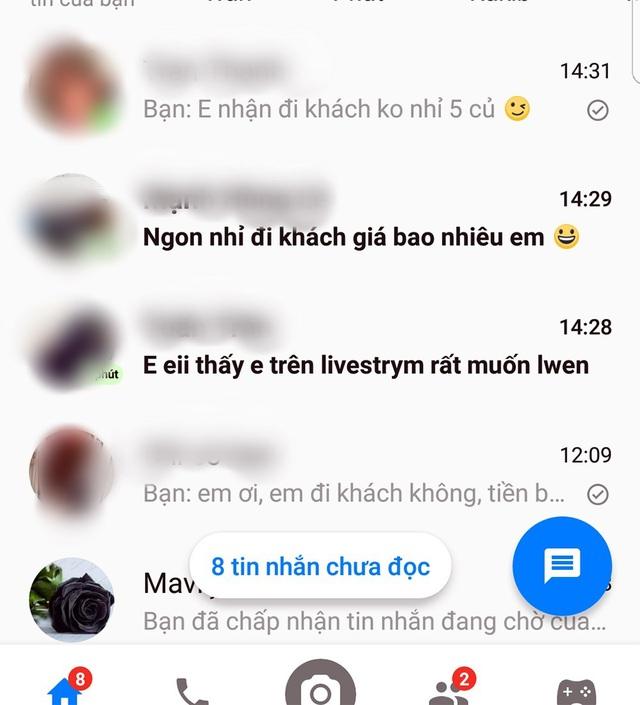 """Góc khuất nghề mẫu livestream bán hàng trên Facebook: Thu nhập """"khủng"""", bị gạ tình - 3"""