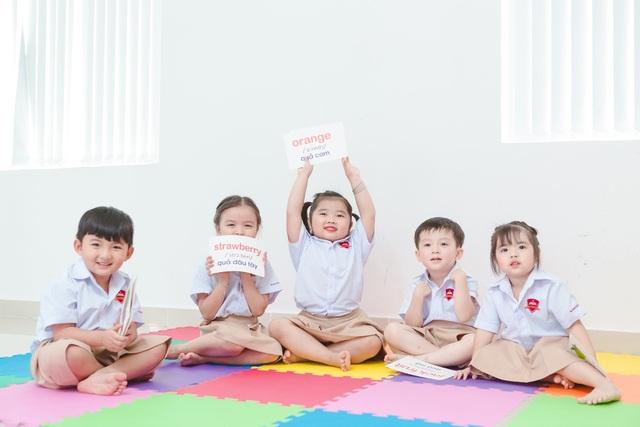 Một giờ học ngoại ngữ của các bé trong Hệ thống Trường Hội nhập quốc tế iSchool.