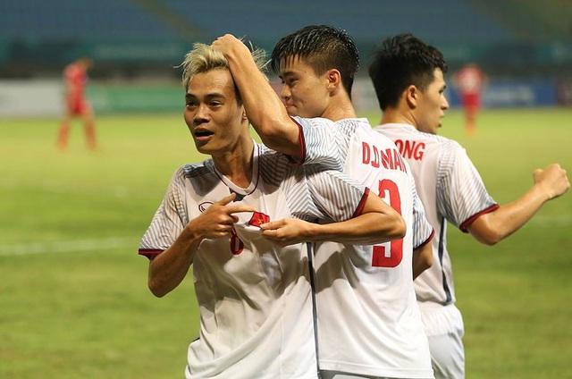 Văn Toàn chơi ngày càng hay trong môi trường bóng đá chuyên nghiệp (ảnh: Huyền Trang)