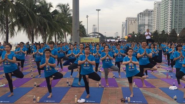 Chương trình Ngày Quốc tế Yoga diễn ra tại Đà Nẵng