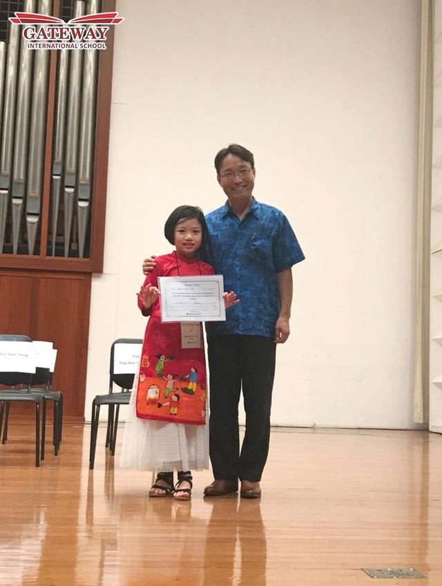 Nữ sinh Việt giành giải thưởng cao trong cuộc thi âm nhạc châu Á - 3