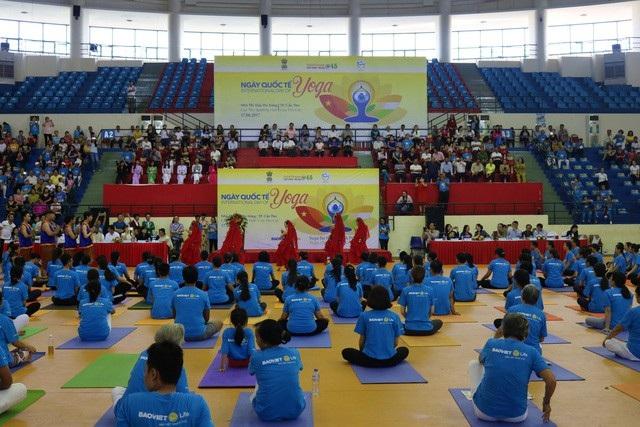 Chương trình Ngày Quốc tế Yoga diễn ra tại Cần Thơ