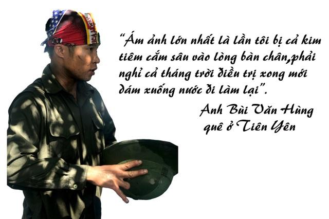 """Nghề... """"mót"""" than trôi ở Quảng Ninh - 5"""