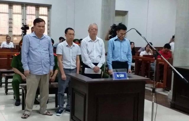 4 bị cáo bị đưa ra xét xử sáng nay