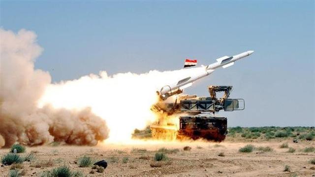 Hệ thống phòng không Syria (Ảnh: Press TV)