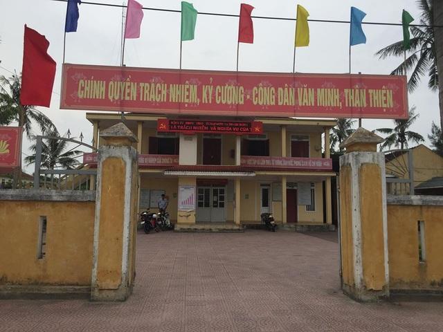 UBND xã Thạch Trung