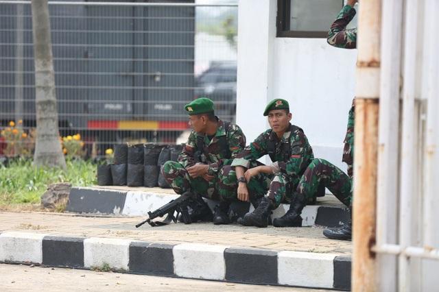 An ninh thắt chặt trước trận Olympic Việt Nam - Olympic Hàn Quốc - 7