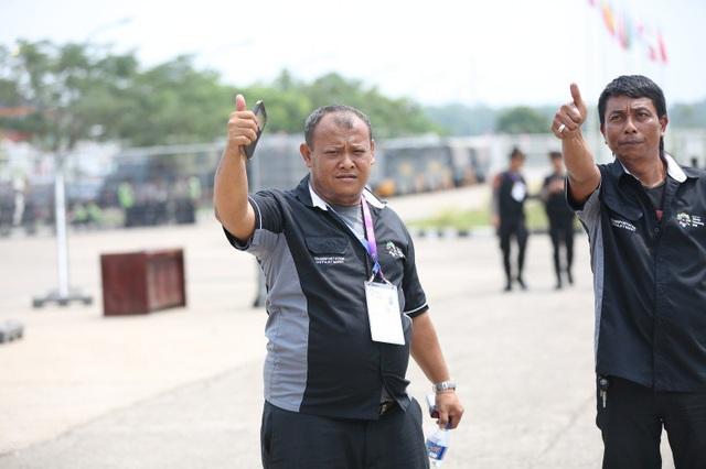 An ninh thắt chặt trước trận Olympic Việt Nam - Olympic Hàn Quốc - 6