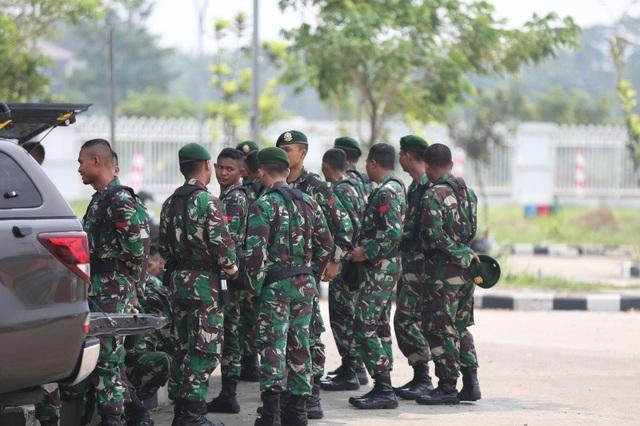 An ninh thắt chặt trước trận Olympic Việt Nam - Olympic Hàn Quốc - 5