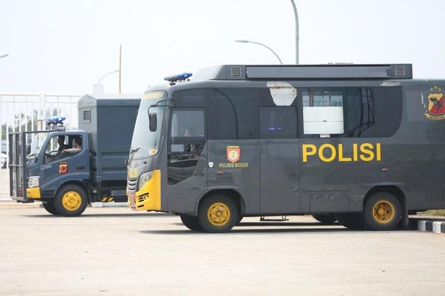 An ninh thắt chặt trước trận Olympic Việt Nam - Olympic Hàn Quốc - 2