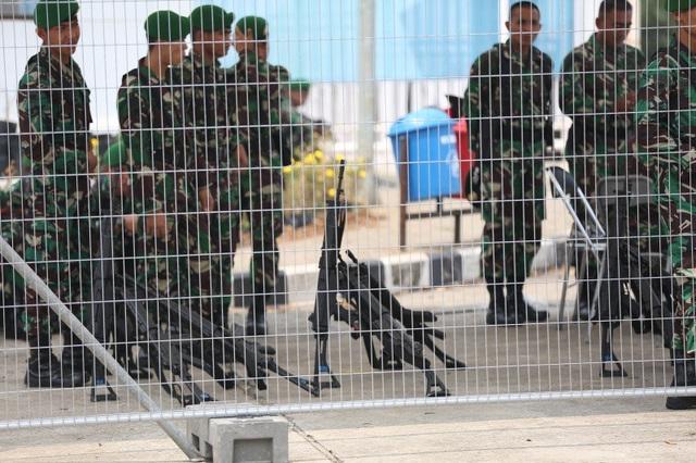 An ninh thắt chặt trước trận Olympic Việt Nam - Olympic Hàn Quốc - 1